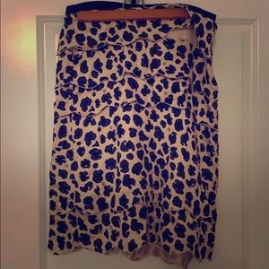 Tory Burch Scalloped Skirt Size 8